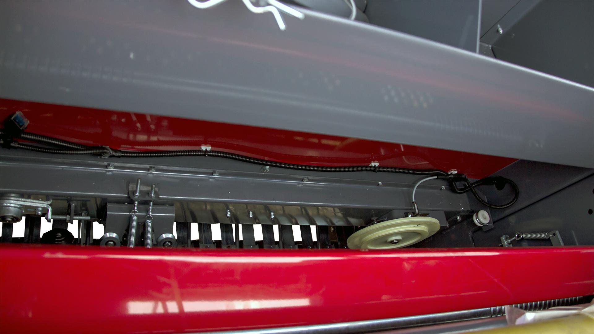 Prasa belująca stałokomorowa Z587 system obwiązywania sznurkiem