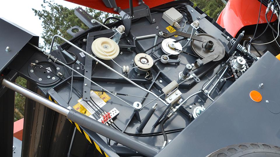 Prasa belująca Z562 automatyczny mechanizm sznurka
