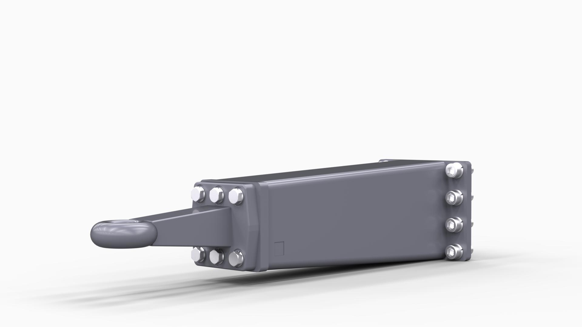 adapter zaczepu prosty oko fi40 mm