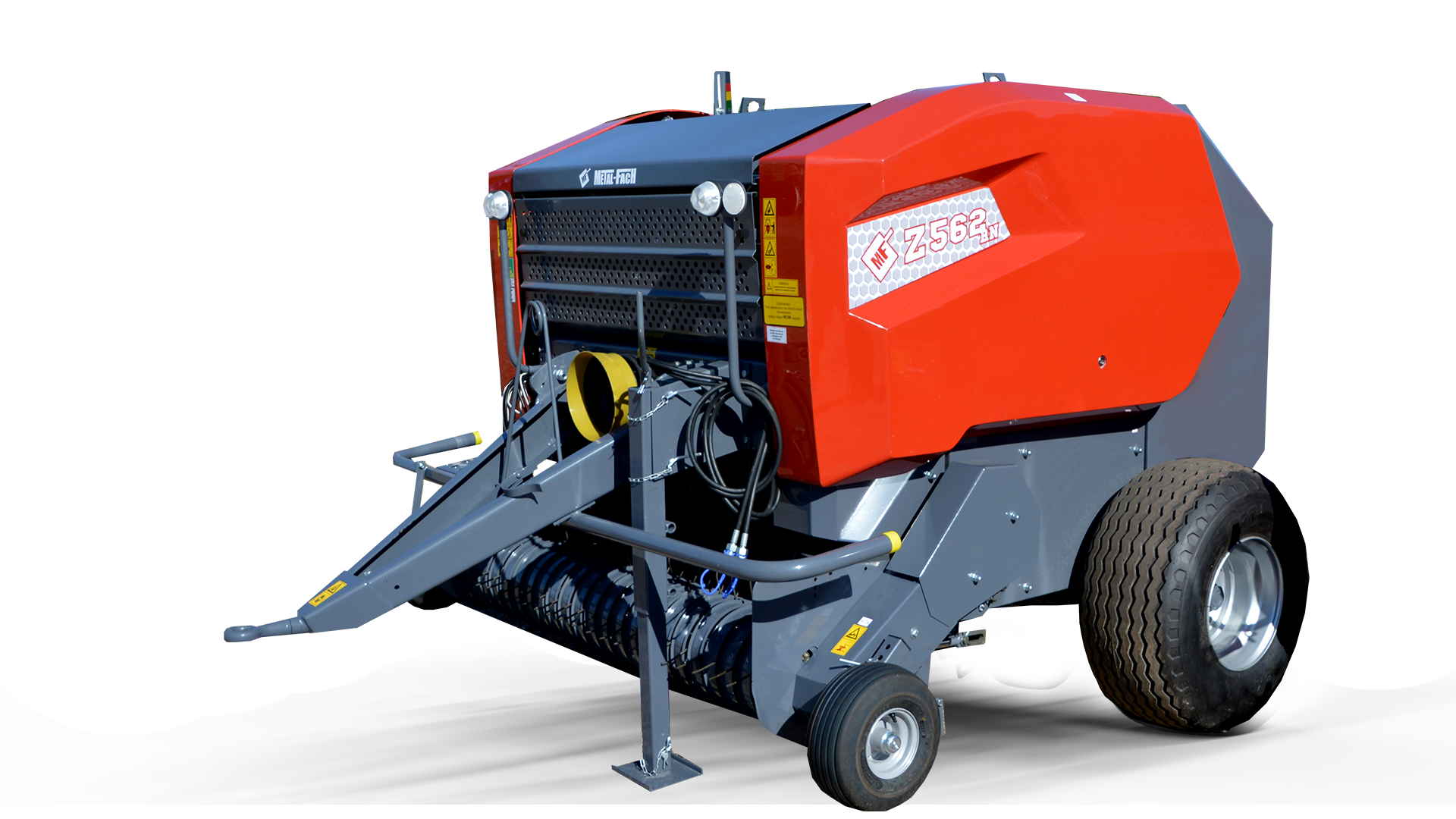 Baler with collector Z562