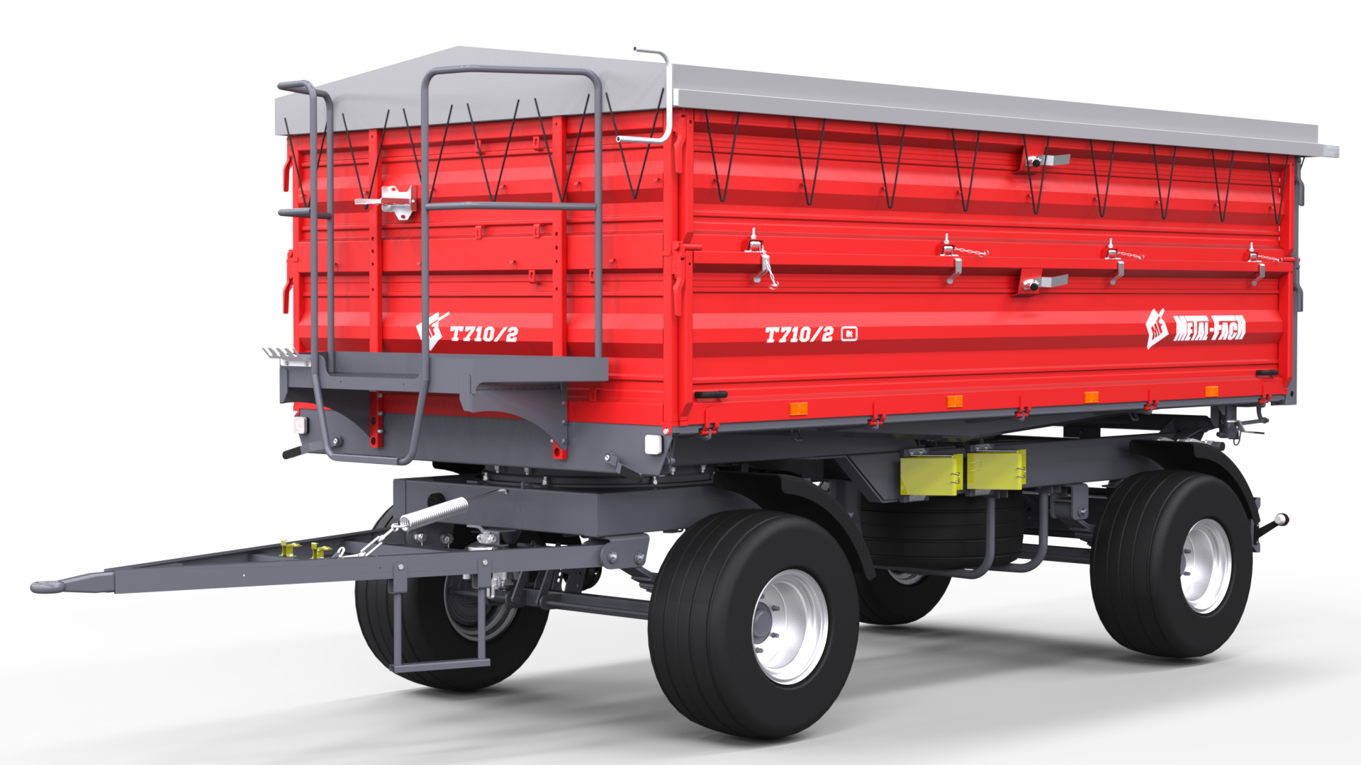 Double axle Agricultural Trailer T710/2