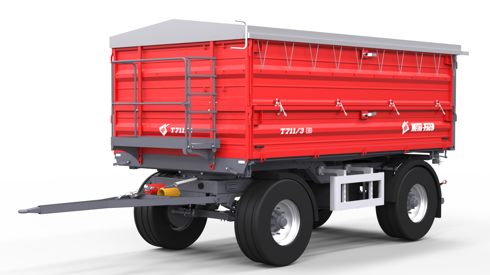 Double axle Agricultural Trailer T711/3