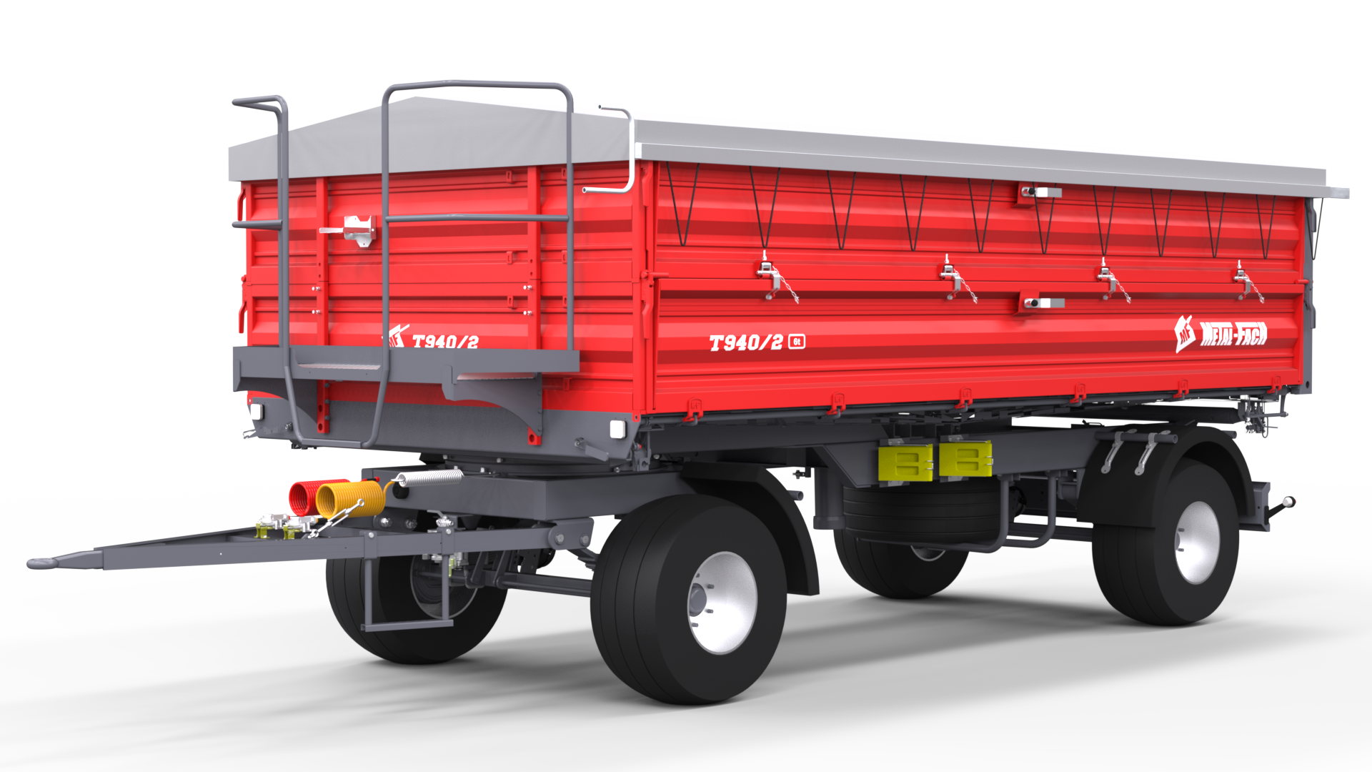 Double axle Agricultural Trailer T940/2