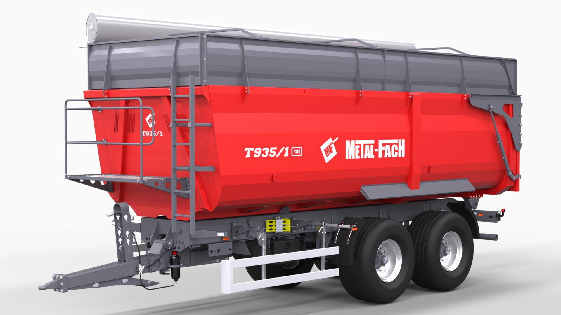 Dumper Trailer T935