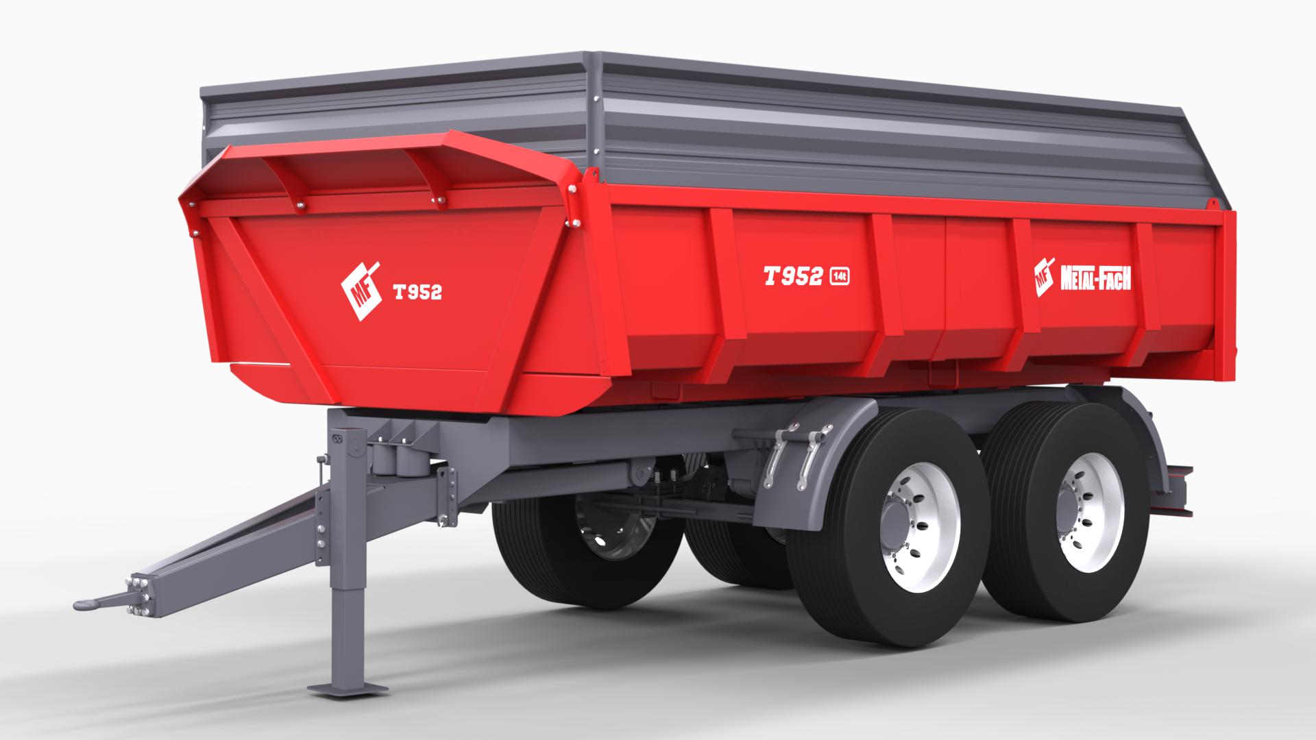 Dumper Trailer T952