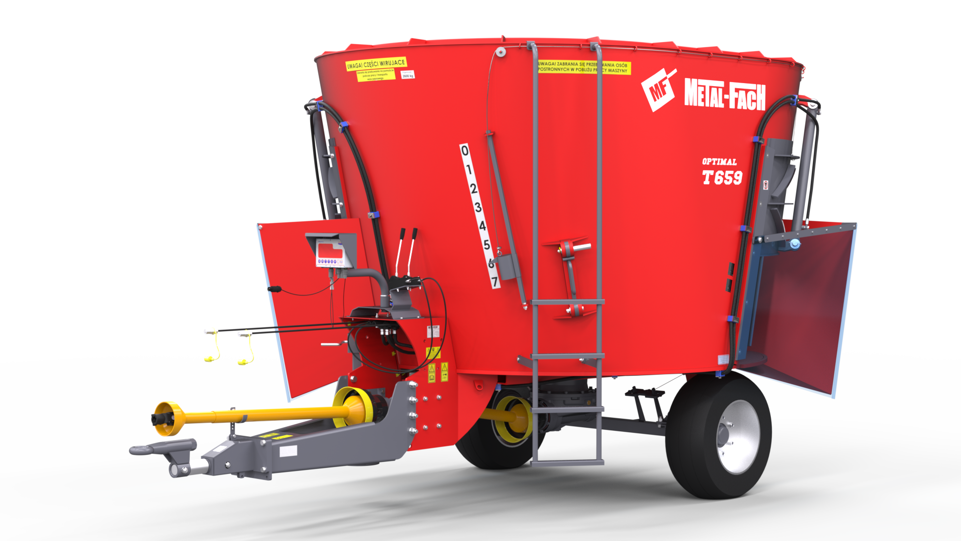Feeder Wagon with 1 auger T659 OPTIMAL