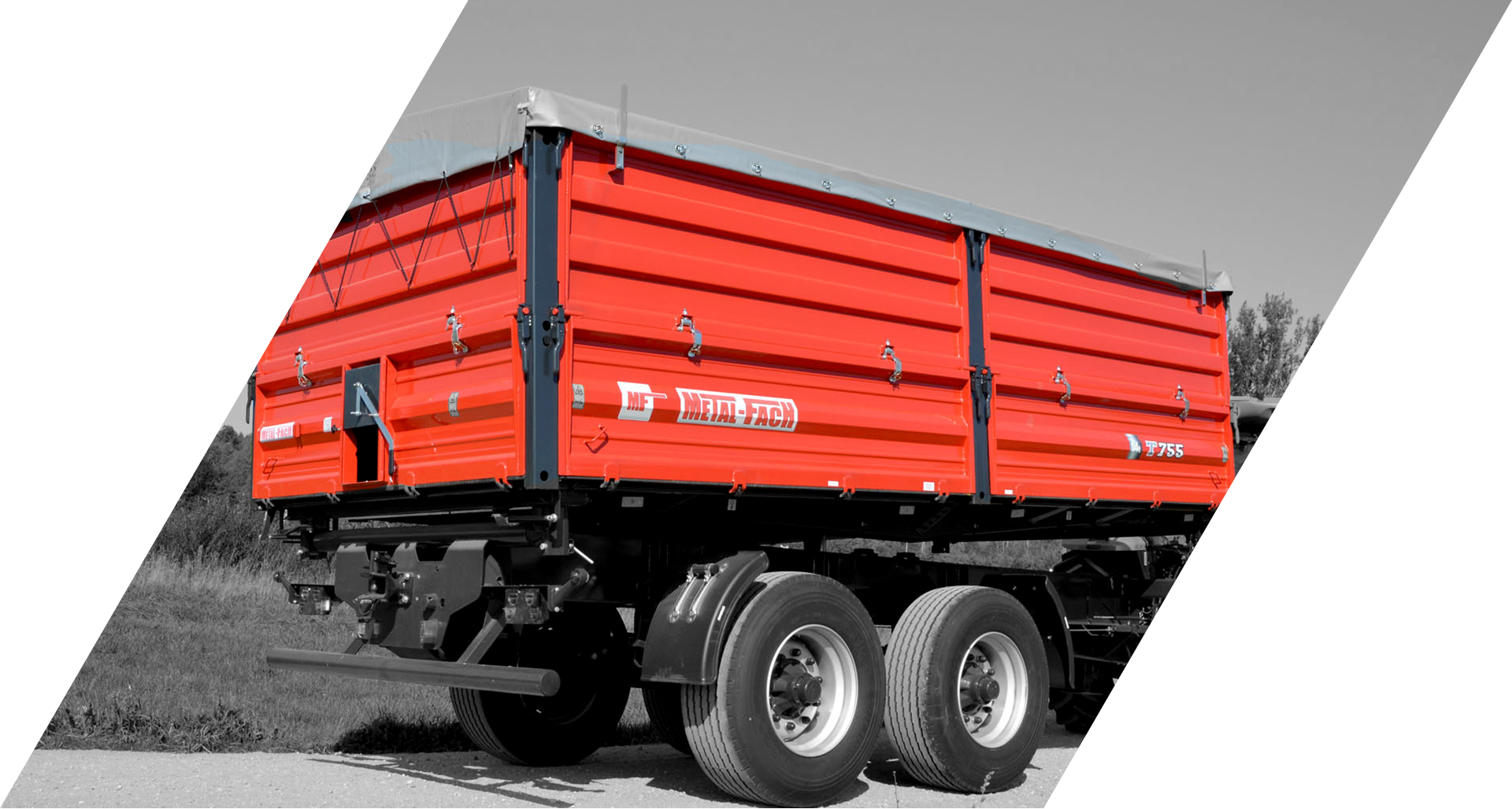 MF Agricultural trailers