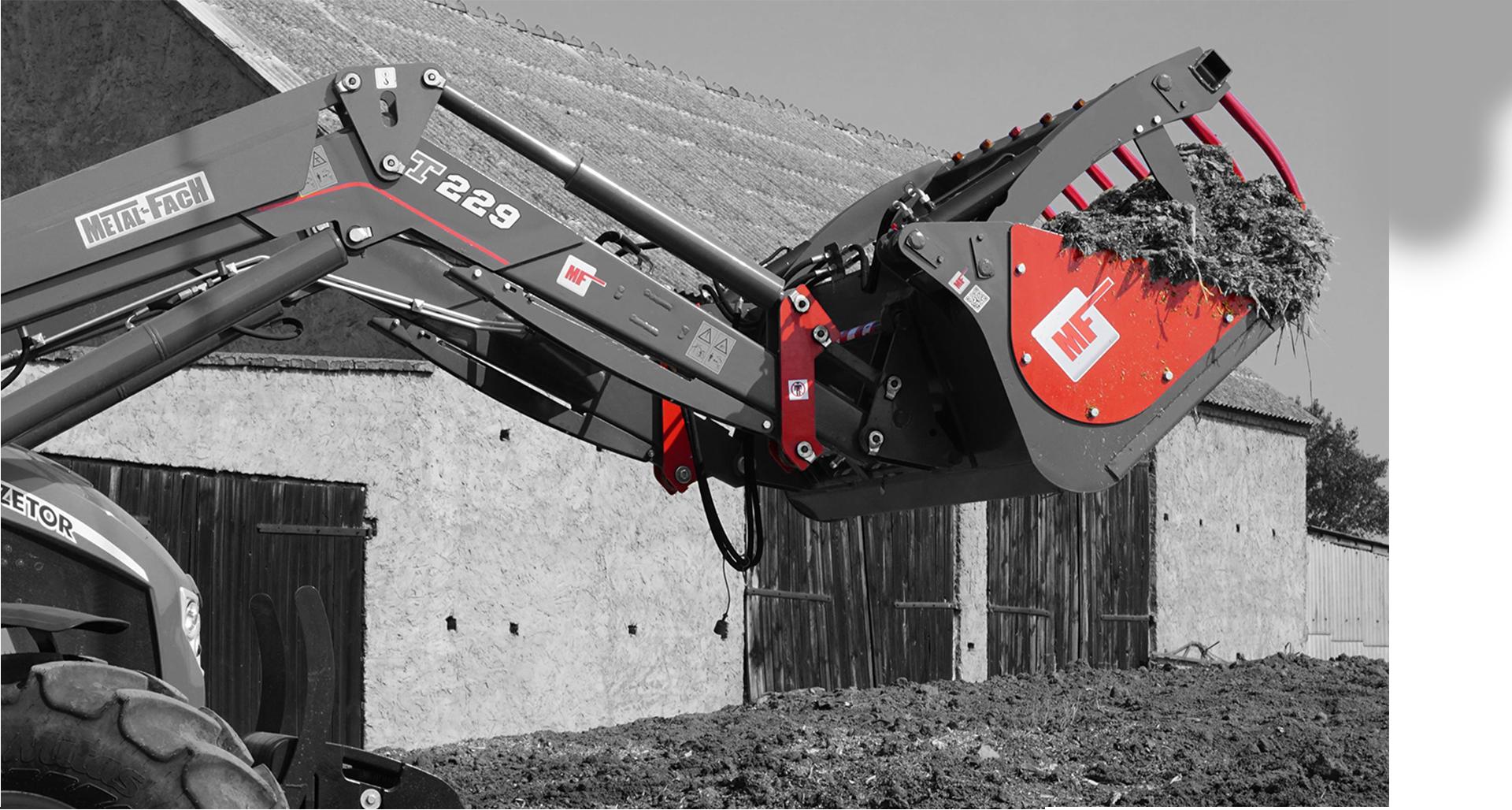 MF Front loader equipment