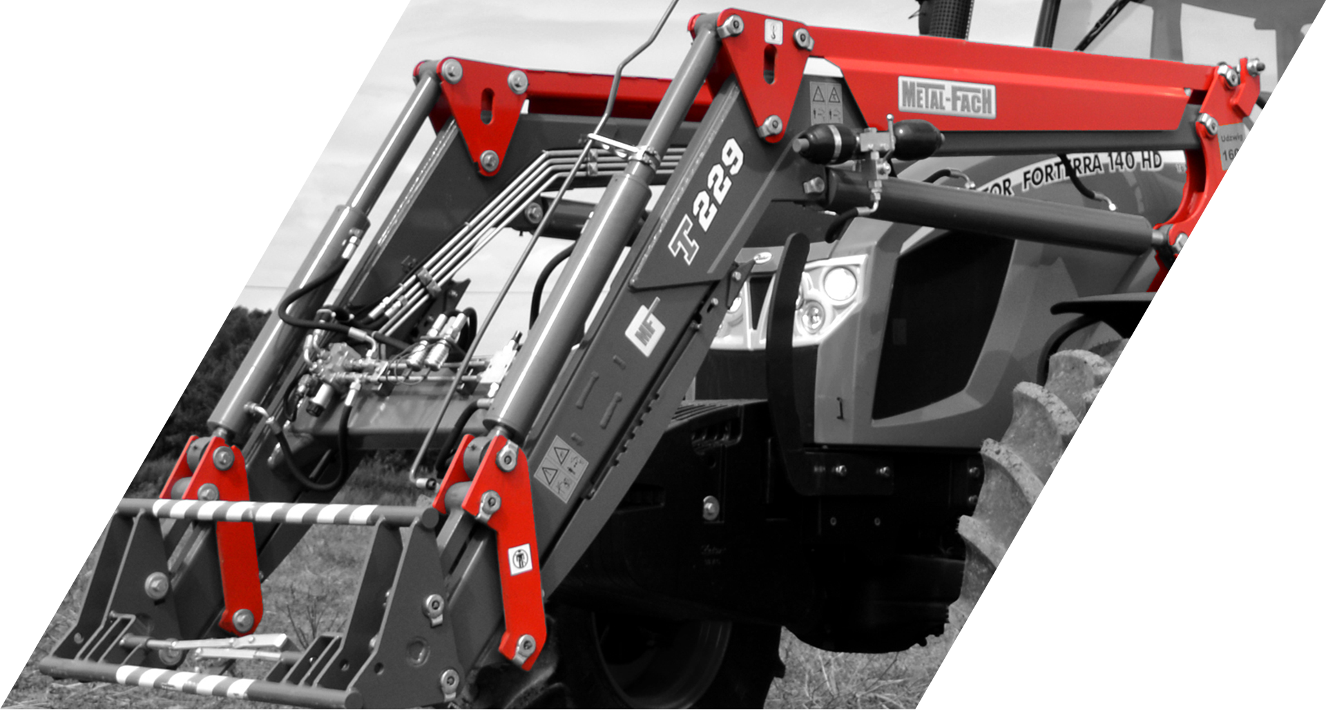MF Front loaders