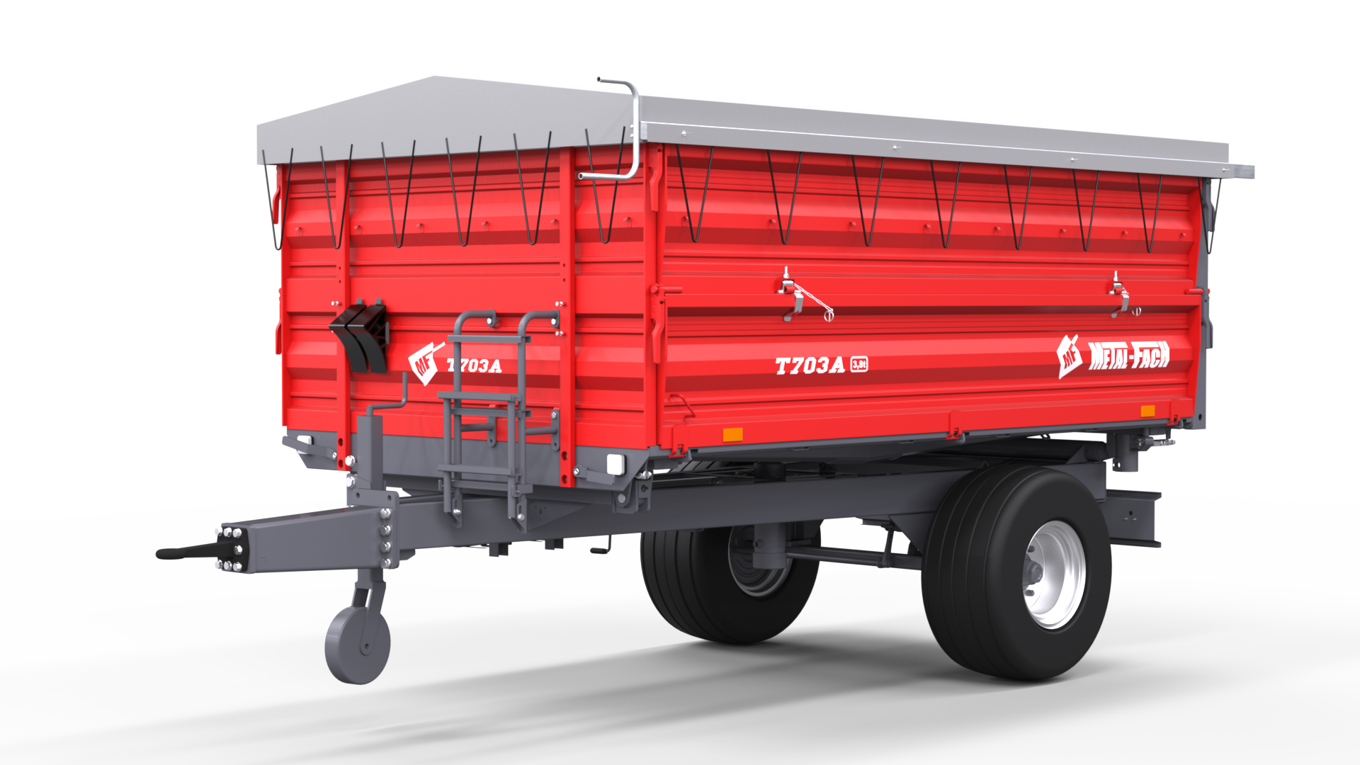 Single axle Agricultural Trailer T703A