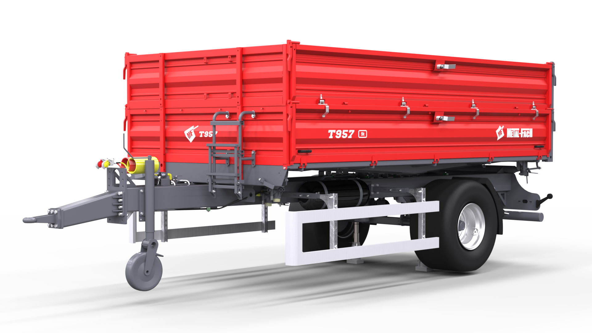 Single axle Agricultural Trailer T957