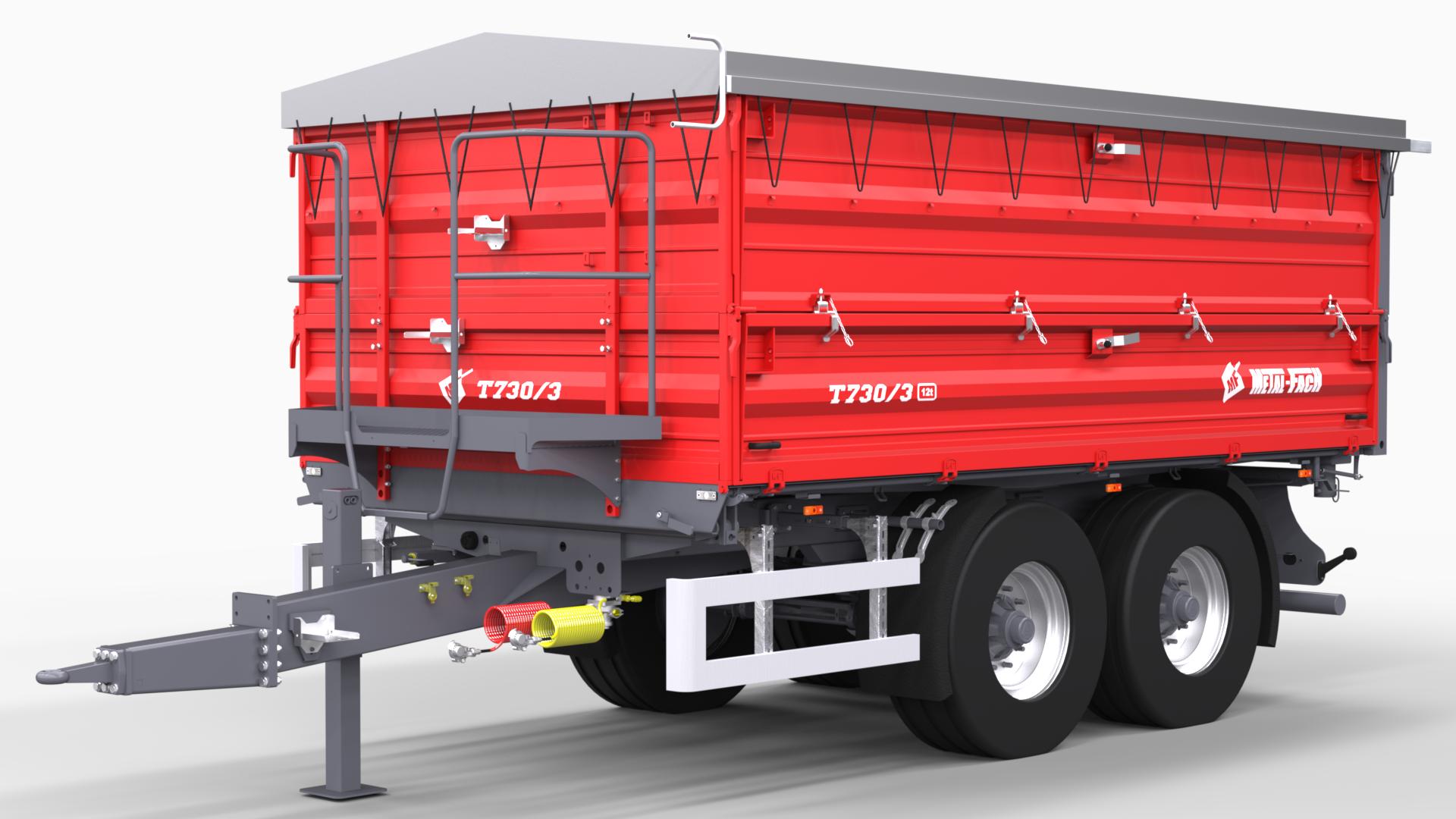 Tandem Agricultural Trailer T730/3