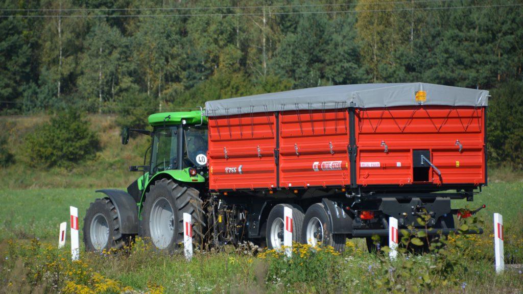 Сельскохозяйственный прицеп тандем T755