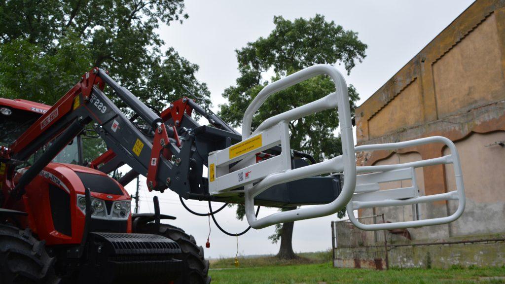 Навесное оборудование для Фронтальных погрузчиков - Захват рулонов