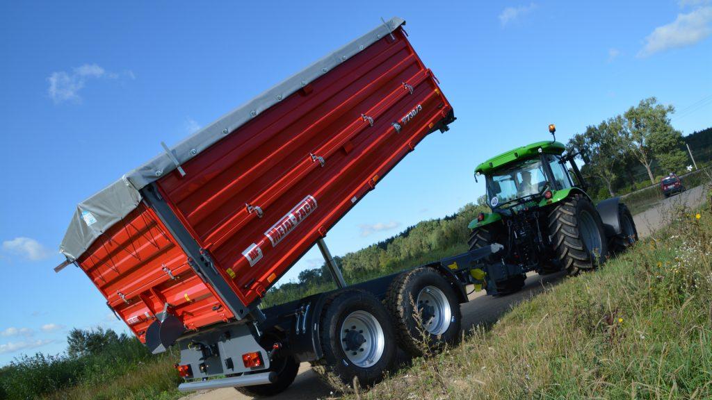Сельскохозяйственный прицеп тандем T730