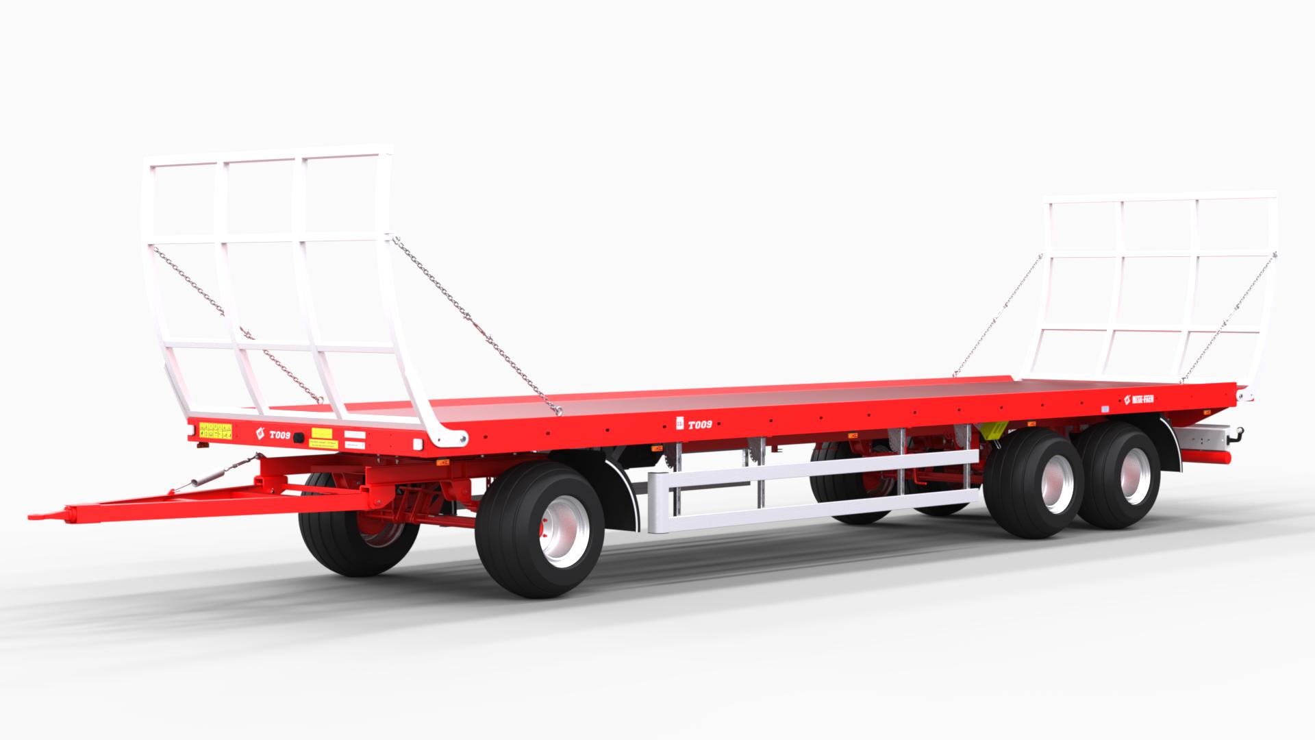 Remorque-à-plate-forme-à-trois-essieux-pour-balles-T009
