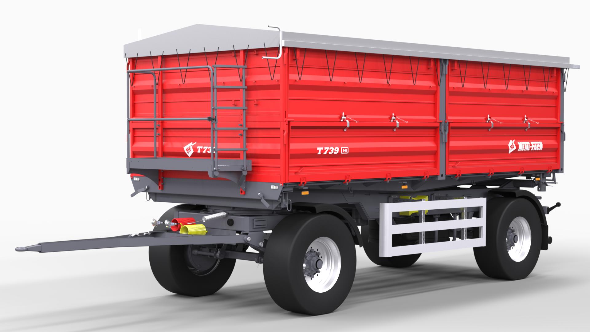 Remorque-agricole-à-deux-essieux-T739