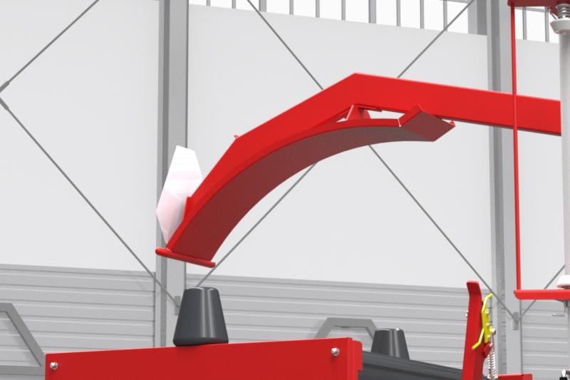 Owijarka do bel samozaładowcza Z237 Metal-Fach Chwytak załadowczy