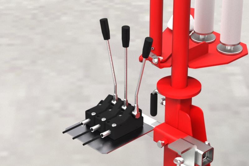 Owijarka do bel samozaładowcza Z237 Metal-Fach Sterowanie hydrauliczne