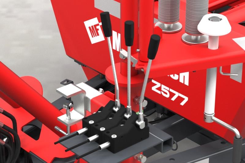 Owijarka do bel samozaładowcza Z577 Metal-Fach Sterowanie hydrauliczne