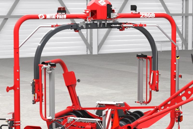 Owijarka do bel samozaładowcza Z598 Metal-Fach Owijanie 3D