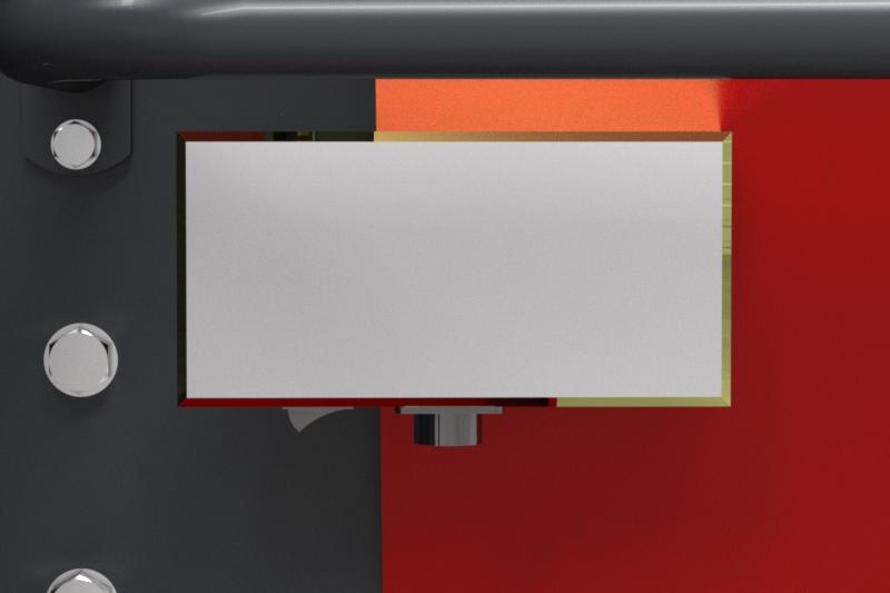 Prasa belująca stałokomorowa Z602 RN Metal-Fach Panel sterowania