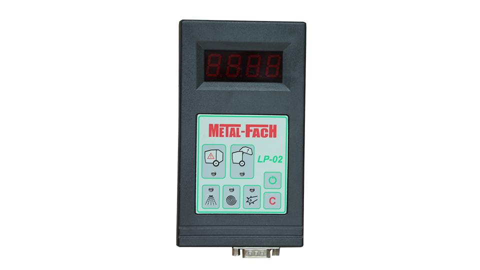 Prasa belująca stałokomorowa Z562 RN Metal-Fach Panel sterowania