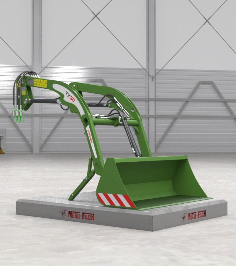 Ładowacz czołowy TX30 - zielony