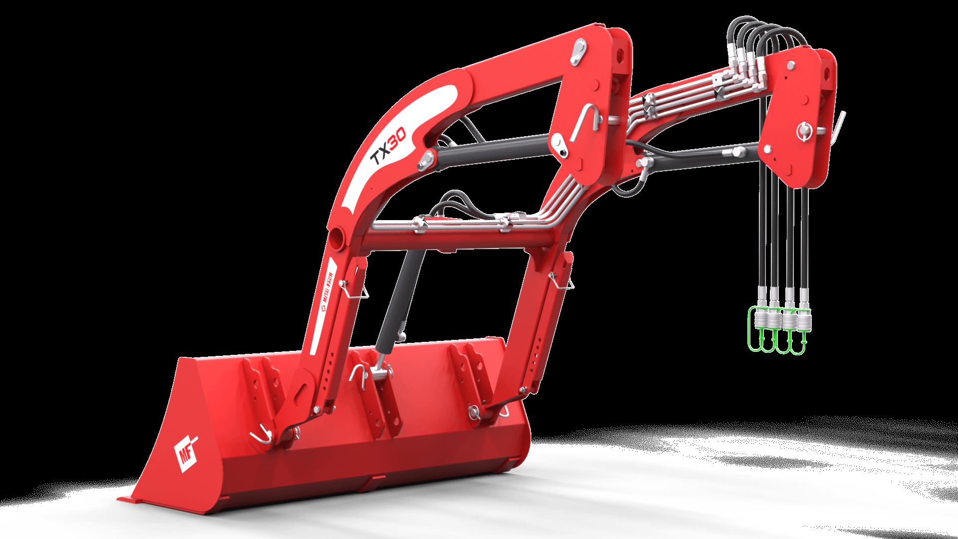 Ładowacz czołowy TX30 Metal-Fach