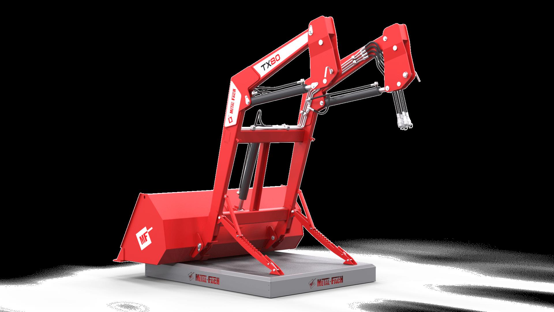 Ładowacz czołowy TX80 Metal-Fach tył