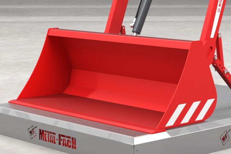 Ładowacz czołowy TX30 - łyżka szerokości 1,2m